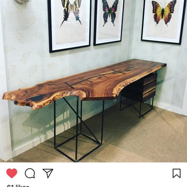 Thrilled to show locallycrafted pieces such as this handmadedesk byhellip