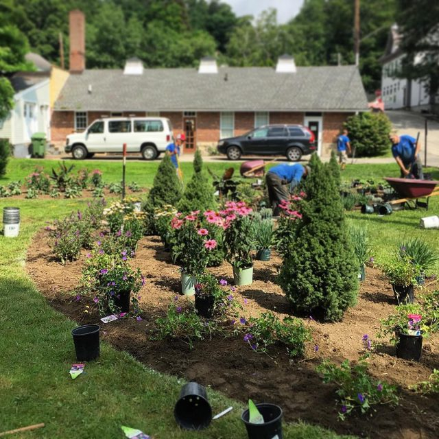 Thank you to salisburygardencenter and the community of donors andhellip