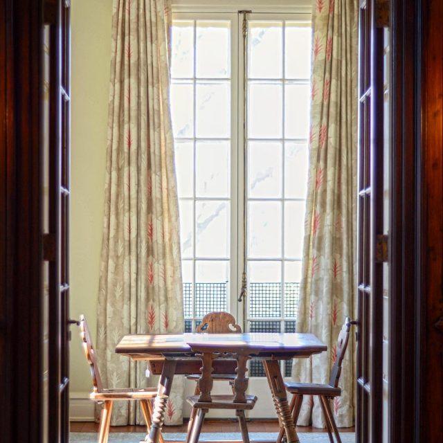 Subtle updates for an antique filled historic New England estatehellip